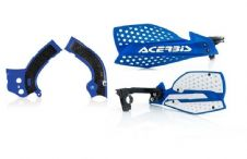 New Acerbis Frame Cover X-Grip YZF 250 450 14-17 X Ultimate HandGuards Blue